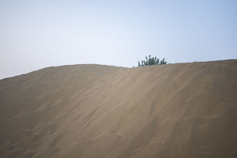 Sky Land Landscape Sand Scenics - Nature Desert Clear Sky Arid Climate Nature Tranquil Scene Tranquility Climate Beauty In Nature Sand Dune Environment Day Copy Space Non-urban Scene Remote No People Outdoors Atmospheric