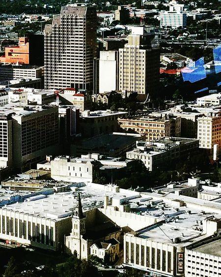 My city Cityscape City Aerial View Urban Skyline No People Outdoors Day Architecture Riverwalksanantonio Satx Riverwalk Street Photography Urban Landscape High Angle View Texas Travel Destinations Sanantonio SanAntonioTexas