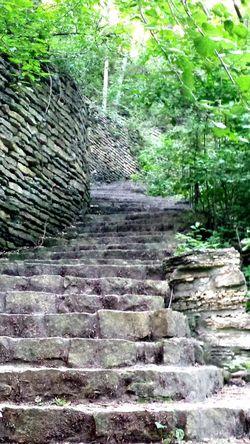 Hidden Falls Park. Saint Paul Minnesota Hidden Path Secret Path