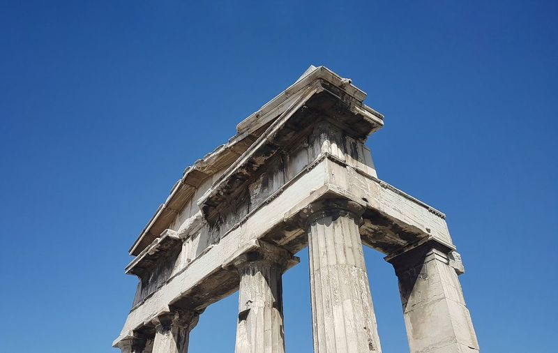 Athens Greece Roman Forum Place Of Worship Religion Archaeology Ruined