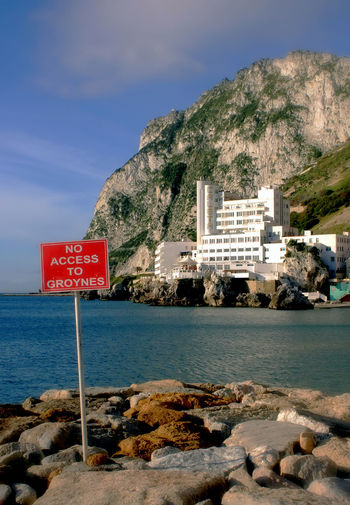 Caleta Hotel, Gibraltar Blue Caleta Hotel Caleta Hotel Gibraltar Clear Sky Cliff Coastline Day Geology Gibraltar Hotel Gibraltar Views Hotel In Gibraltar No Access Outdoors Rock Rock - Object Rock Formation Rocky Sea Traveling Trip Vacation Views Of Gibraltar Water