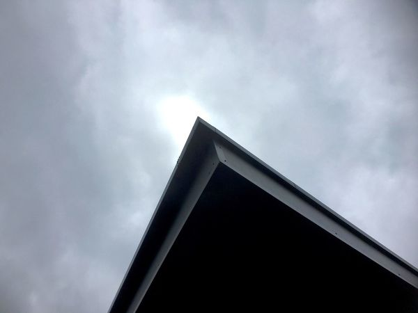 Sky Cloudy Day Architecture Cloud Building Exterior Cloud - Sky IPhoneography Different Points Of View Light And Shadow Different Angle Of View Pattern, Texture, Shape And Form