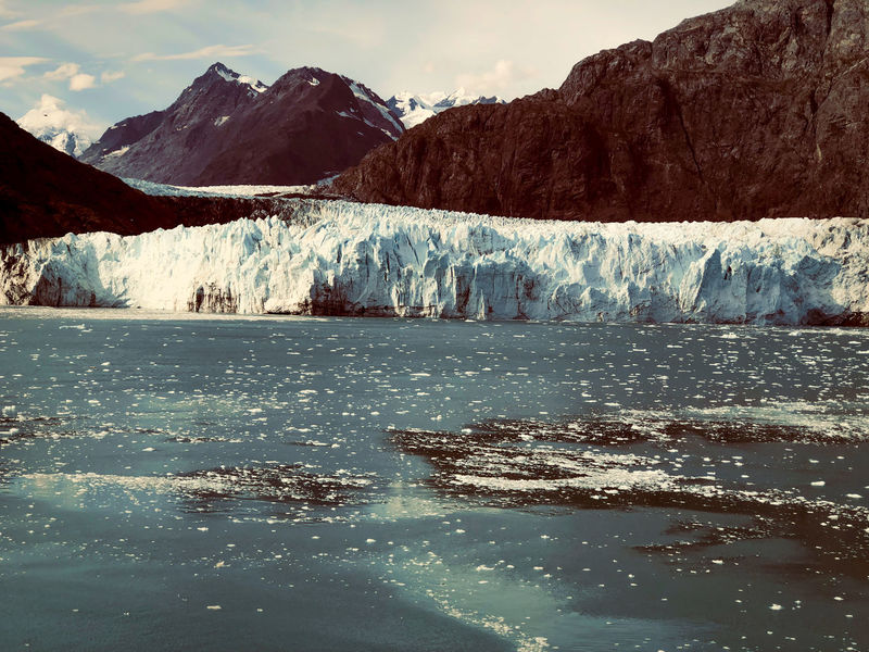 Glacier Bay Alaska Water Mountain Sky Waterfront Nature Environment Ice Beauty In Nature Wilderness Day Lake Cold Temperature Landscape No People Glacier Reflection Outdoors Cloud - Sky Scenics - Nature Mountain Peak EyeEm Best Shots EyeEmNewHere EyeEm Nature Lover EyeEm Selects