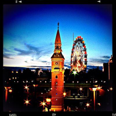 Ferris Wheel Night Lights