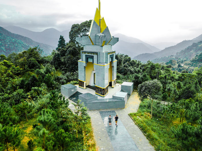 DJI X Eyeem Drone  Architecture Beauty In Nature Day Dronephotography Growth Mountain Nature No People Outdoors Religion Scenics Sky Skypixel Spirituality Tree