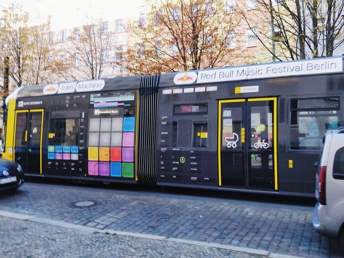 Red Bull Tram Machines City