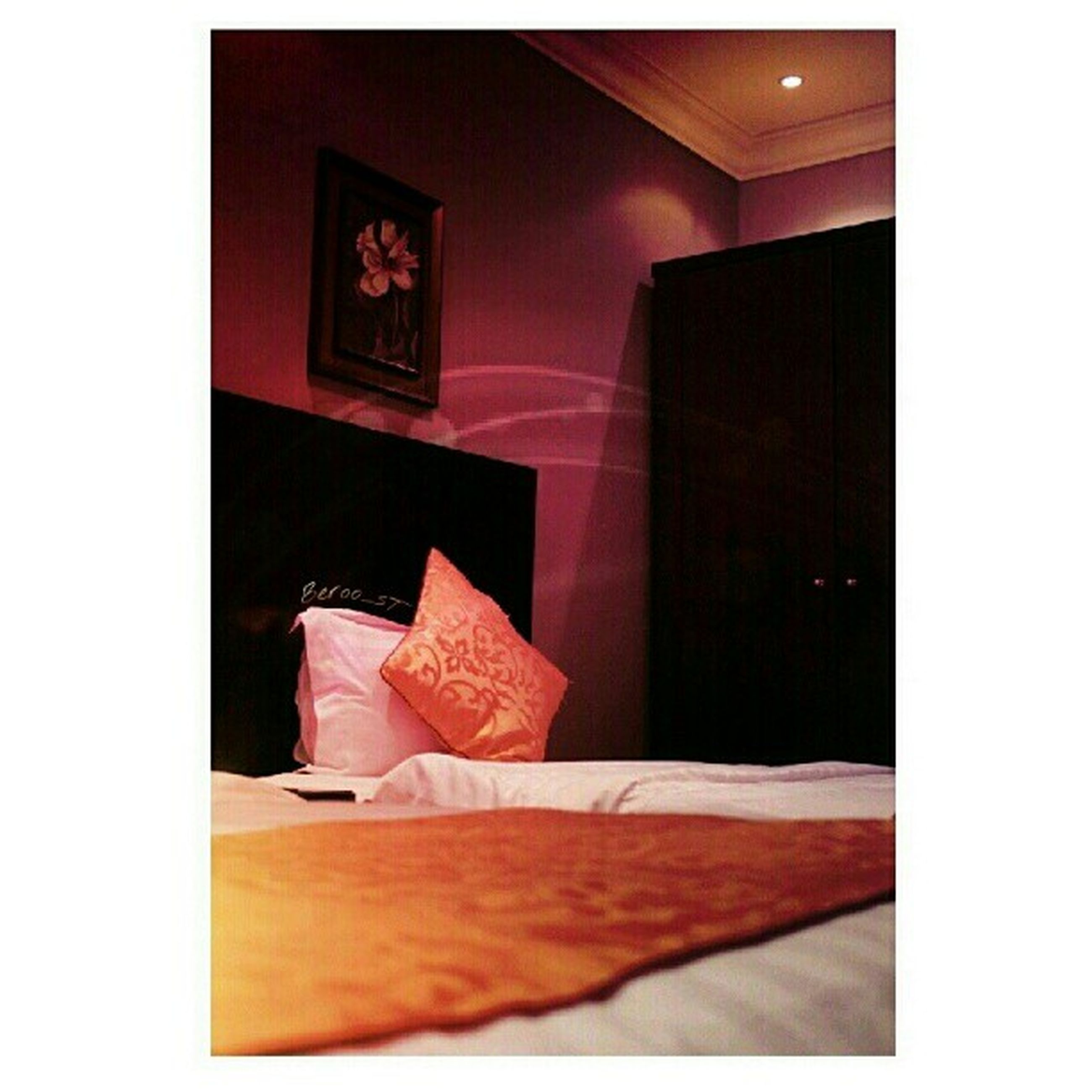 indoors, home interior, table, absence, empty, transfer print, auto post production filter, domestic room, chair, book, house, room, picture frame, illuminated, open, furniture, wood - material, bed, bedroom, no people