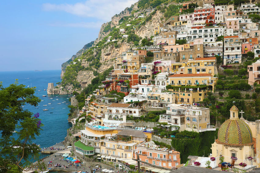 Amalfi Coast POSITANO(ITALIA) Positano Italy Positano, Italy Architecture Building Building Exterior Built Structure City Cityscape Day High Angle View Nature No People Outdoors Plant Positano Positanocoast Residential District Sea Sky Town TOWNSCAPE Tree Water