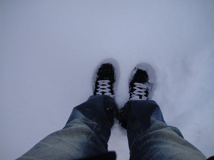 Snow Its Me Shoes Shoes In Snow