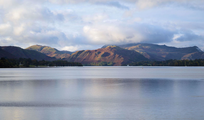 Beauty In Nature Cloud Cloud - Sky Cloudy Day Idyllic Lake Mountain Nature No People Non-urban Scene Outdoors Remote Scenics Sky Tranquil Scene Tranquility Water Lake District English Countryside Lakeshore Cumbria Ullswater Natural Beauty Mountain Range