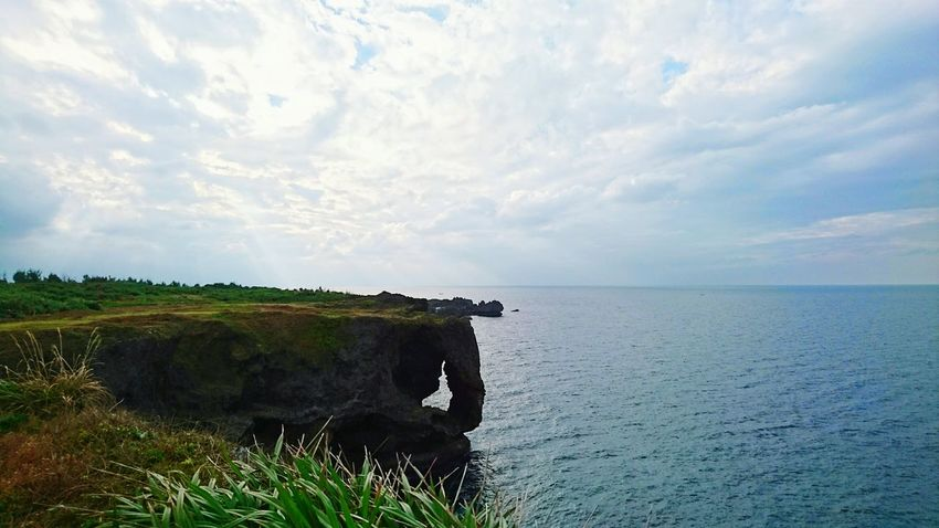 Miles Away Cape Manzamo OKINAWA, JAPAN Sea And Sky Landscape FirstEyeEmPic