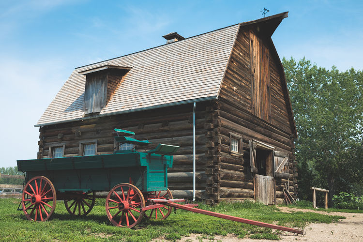 Time Old Vintage Agriculture Sky Architecture Building Exterior Barn Farmland Silo Dairy Farm Storage Farm Cultivated Land Shack Hut Deterioration