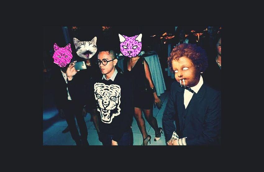 Im all Up for A good time CatWangNiggah! Selfie ✌ CATWANG Vscocam #vsco Vscocam Partying Party Cocktails Mocktails Mojito♡ #rave #edm #avicii #calvinharris #dancefloor