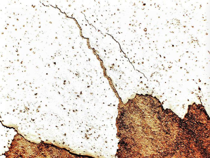 Full frame shot of damaged rock