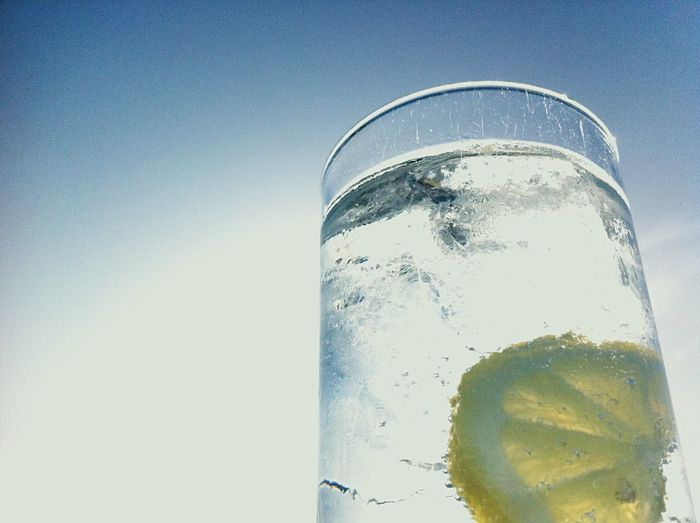 Gin O'Clock Gin & Tonic Beverage Drinking Drink Gin Tonic Ice And A Slice G And T Gin And Tonic