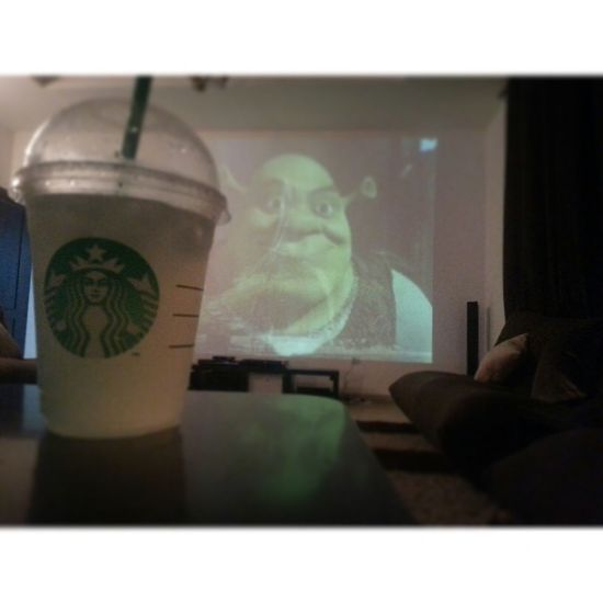 Cinema At Home Theater Movies With Family Starbucks Lemonade