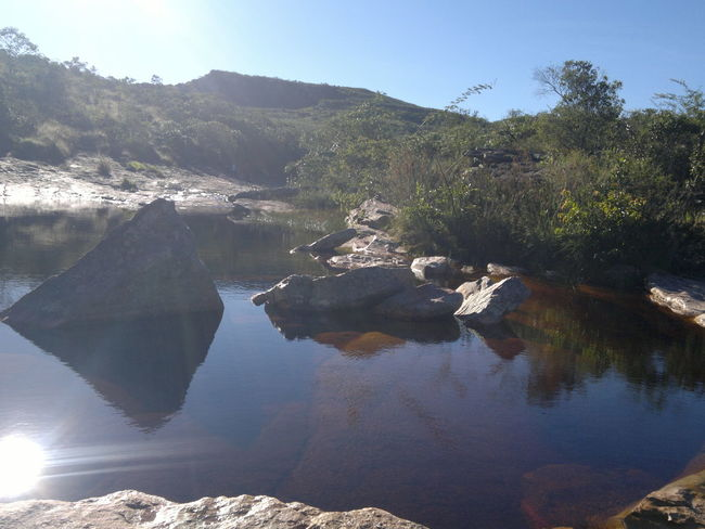 #Bahia #Brasil #Rio M Beauty In Nature Day Lake Mountain Nature No People Outdoors Reflection Scenics Sky Tranquil Scene Tranquility Tree Water