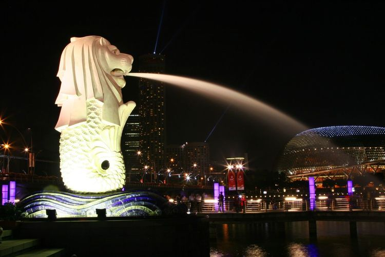 Merlion at