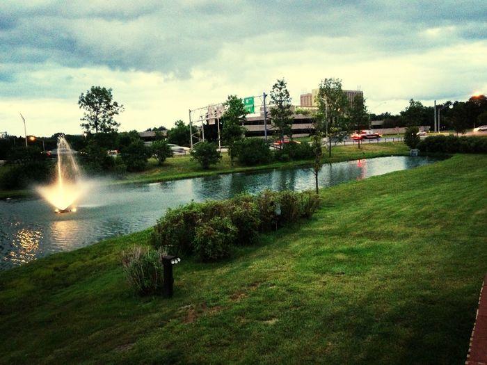 Nature Fountain Water Fountain Pretty #outside