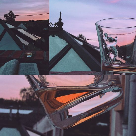 Malt Scotch Whisky Sunset