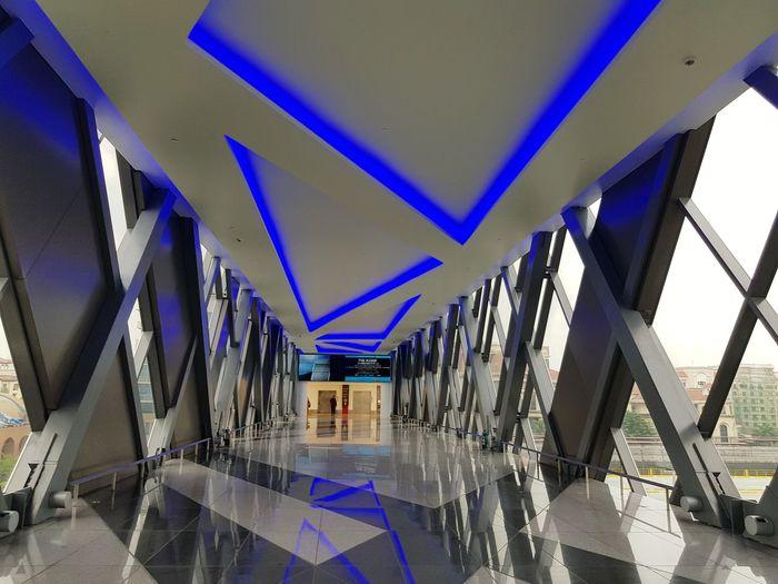 Hallways Footbridge Crossing Airportconnectors Travelph Crossover