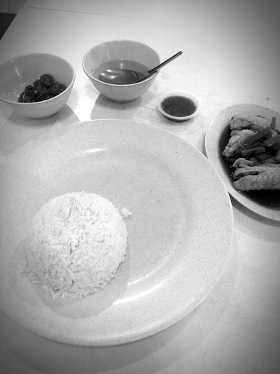 Malaysia chicken rice. Food