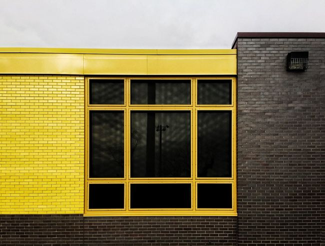 Yellow Window Building Exterior Built Structure Architecture Outdoors Day