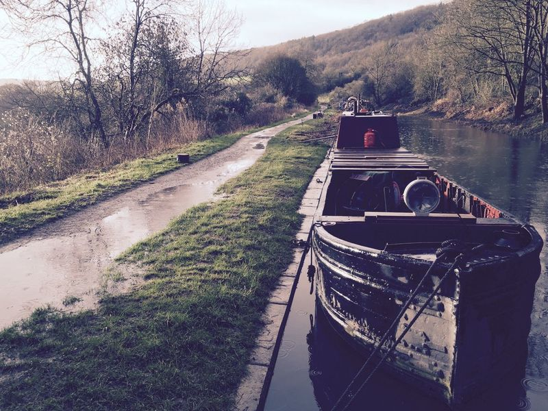 Heart of Gold Morning Stormy Weather Canal Life Storm Winter Kennet And Avon Canal Bathampton Historic Boat Historic Narrowboat Boat Life Boatlife Canal Iron Hull Workboat Work Boat Working Boat Workingboat Narrowboat Heartofgold