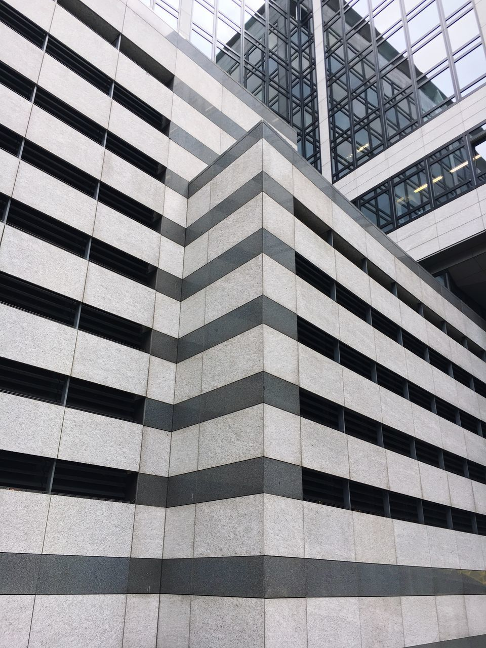 architecture, built structure, modern, building exterior, low angle view, skyscraper, travel destinations, day, pattern, city, outdoors, no people, sky