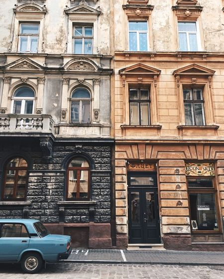 City style Architecture Building Exterior Street Window Built Structure Transportation Travel Outdoors City Day No People Car Vehicle Interior Old City Trip Urban Backgrounds Inspiration Exterior Style