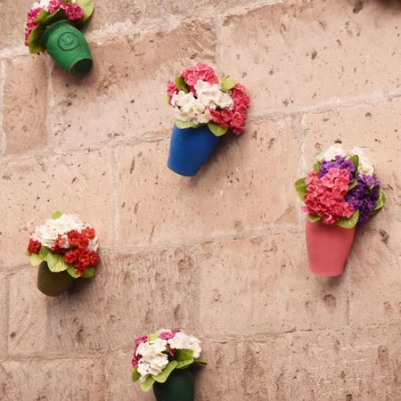 Flower Vase Potted Plant Bouquet Flower Arrangement Plant Peony  Flower Head Window Box Pink Color Rose - Flower Blossom Hydrangea Multi Colored Nature Beauty In Nature No People Fragility Summer Bougainvillea