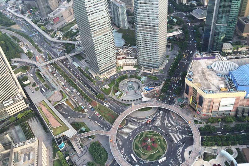 City Cityscapes EyeEm Best Shots Urban Geometry China Shanghai Road