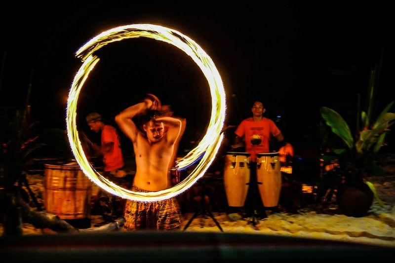Island of Fire Firedance Firedancer Firedancersphillipines Performance Travel Photography Captured Illuminated EyeEm Selects