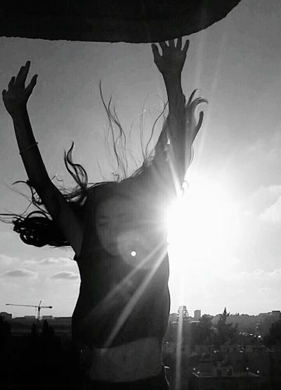 let go of your worries and fly Be Free Powerful Eyem Best Shots Fotography Eye Em Best Shots Dreams Artistic Thinking Flaing On Air Jumping