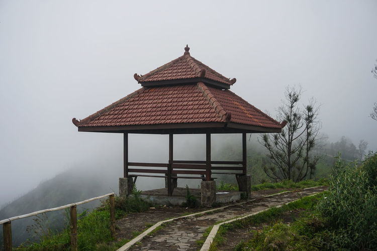 Small huts above the Mountains, Mount Bromo. Architecture Fog Built Structure No People Tree Nature Plant Sky Building Exterior Building Day Tranquility Roof Beauty In Nature Land Tranquil Scene Field Scenics - Nature House Bromo Bromo-tengger-semeru National Park Bromo Mountain Mountain Mountains Hunt