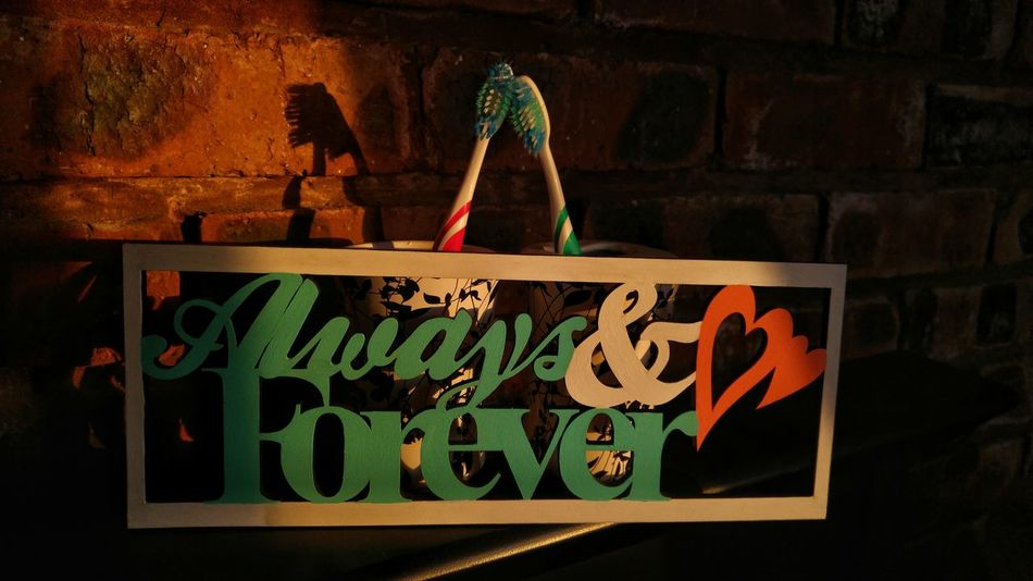 Novice Photography Love Forever And Always Toothbrush Special