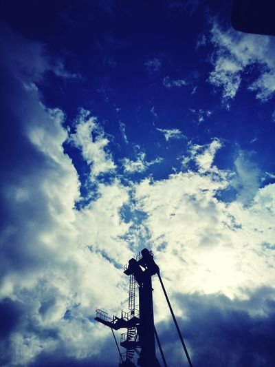 Low Angle View Sky Cloud - Sky No People Outdoors Nature Day lıbherr 420