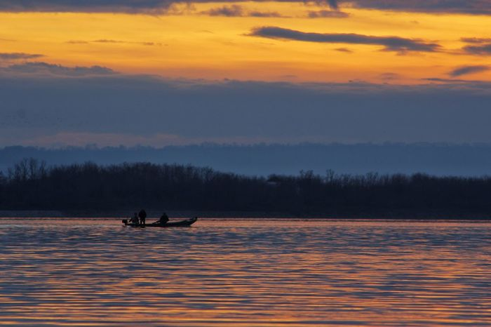 Outdoor Photography Wather Water Reflections Sunset Boat Fishing Boat Sunset Landscape Nature Lake Outdoors Water Sky