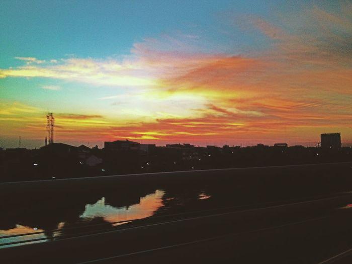 Skyporn Clouds And Sky Sunset Saturday Sun