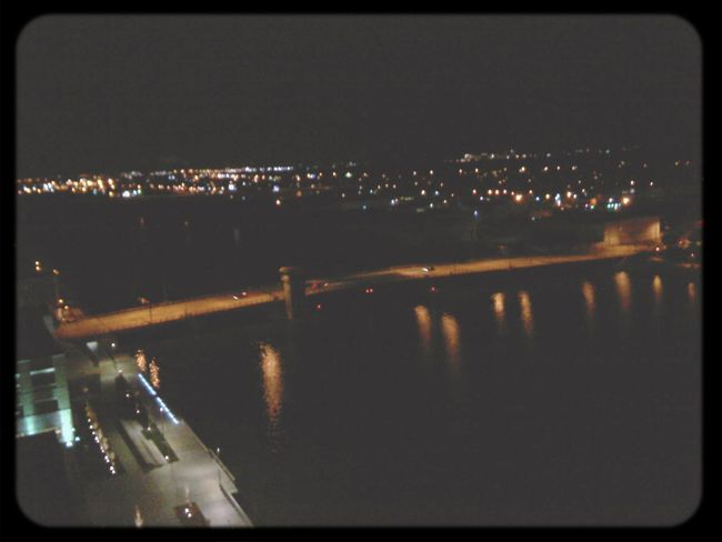 Walnut st. Bridge. Green Bay  Corey River