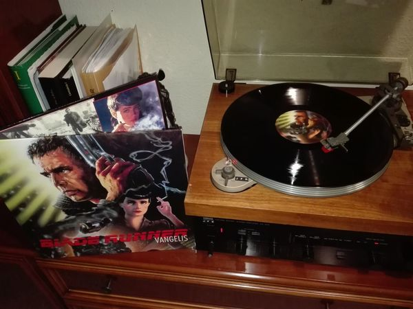 Vinilo Blade Runner 6/1/2018 One Man Only Only Men Adults Only Indoors  One Person Mirror Reflection