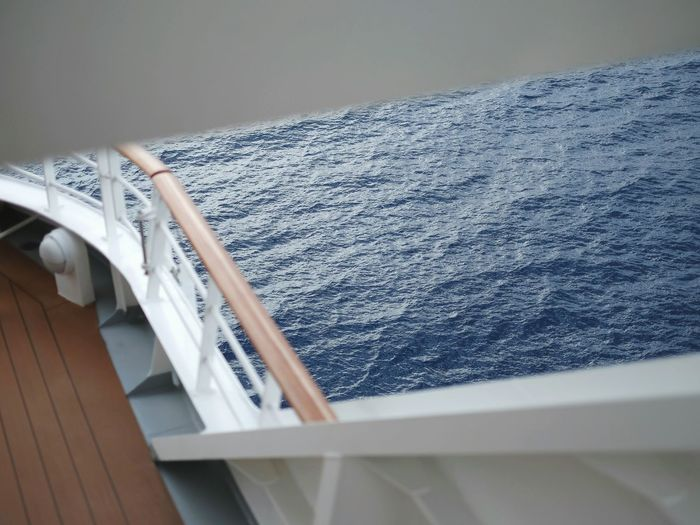 Rough sea on a cruise ship. Now I deeply understand the problems of sailors and other marine warriors... All this food and so little time! Sea Cruise Ship Waves Blue Water Deck All Ahead, Full Sail! Full Speed Ahead!