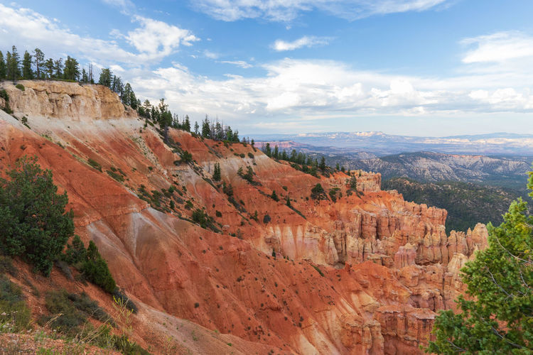 the overwhelming Bryce Canyon Rock Rock - Object Non-urban Scene Nature Beauty In Nature Travel Destinations Scenics - Nature Tranquility Tranquil Scene Outdoors Eroded Formation Bryce Canyon Utah National Park Cloud - Sky Mountain Travel Landscape Tree Environment Tourism Rock Formation Plant No People