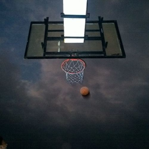 Just another evening with Basketball 🏀 Fun Newpeople Sports Naturelovers Photooftheday Igrs Sky Beautiful Love Twilight Nofilter Lumia1020 Smartcam