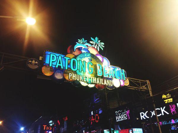 Patong Patong Beach PatongNightLife Thailand Banglaroad Nightlife EyeEm Thailand Thailand_allshots Thailandtravel Holiday