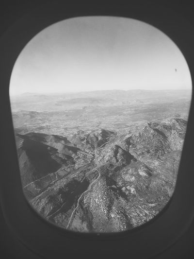 Travel Flying Scenics Glass - Material Landscape Airplane Window Vehicle Interior Beauty In Nature Cloudscape Hanging Out Hello World