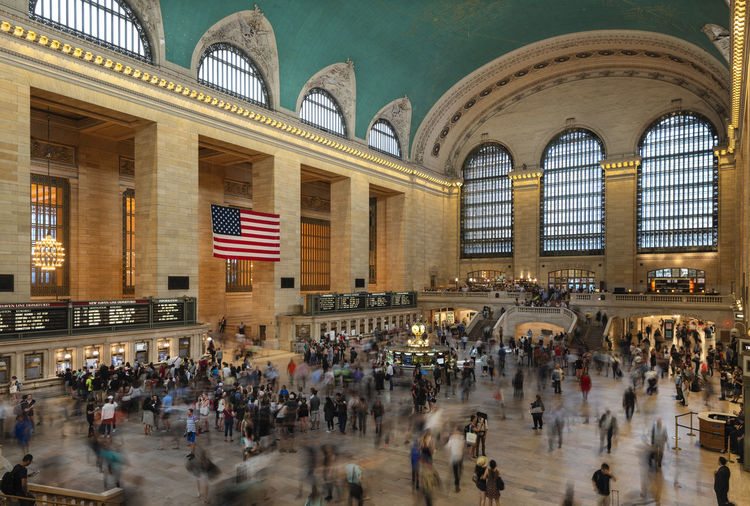 Interior of the Grand Central Station, New York City, United States Blurred Motion Large Group Of People York Work Window USA Urban United Travel Transportation Train Traditional Tourist Tourism Ticket Terminal Subway Station States Schedule Rush Retro Railway People NYC New York New Movement Motion Metro Manhattan Landmark Interior Inside Infrastructure Grand Flag Fast Destinations Crowd Clock Classic City Central Busy Building Beautiful Architecture American America