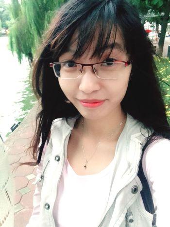 Lần đầu được nhìn thấy hồ Gươm! :D Chouselfie Hanoi Hoguom