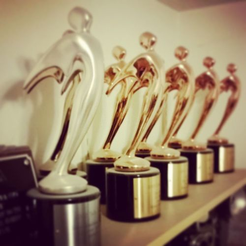 Brushing the dust off the award shelf. Might be time to do some new Creative Productionlife WeAllLikeShinyAwards
