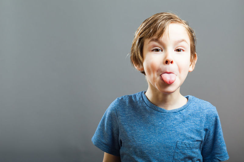 Five year old boy emotion series Boy Child Emotions Feelings Kids Mischievous People Portrait Preschooler Rascal Sticking Sticking Out Tongue Tongue Tongue Out